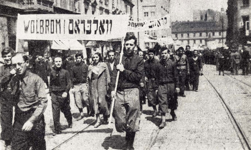Poale Zion march in Warsaw