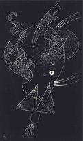 Wassily Kandinsky, La figure blanche (White Figure) (April 1938)