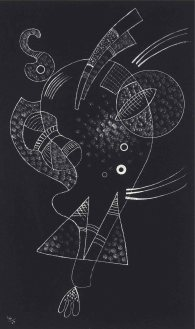 Wassily Kandinsky, La figure blanche (White Figure) (April 1938)
