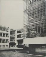 Lucia Moholy Bauhaus Building, Dessau, 1925-1926- Workshop building from the west