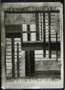 Lucia Moholy, Textile- Unidentified Artist Bauhus Textile in Raffia