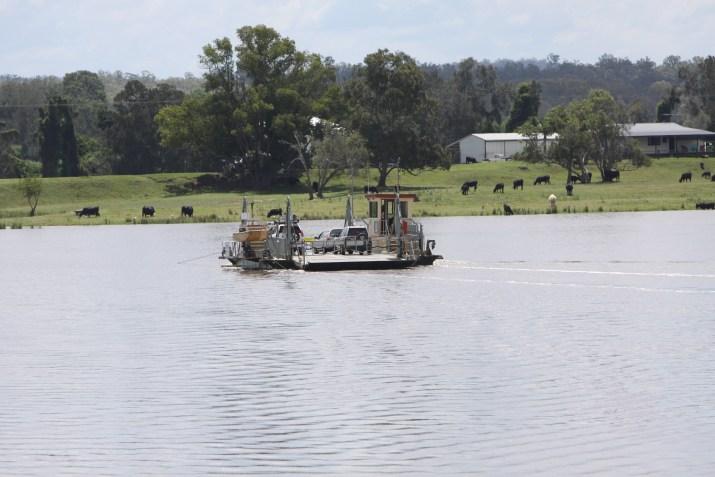 Ulmarra Vehicular Ferry