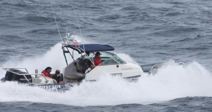 Underway at sea