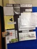 Student presentationboard