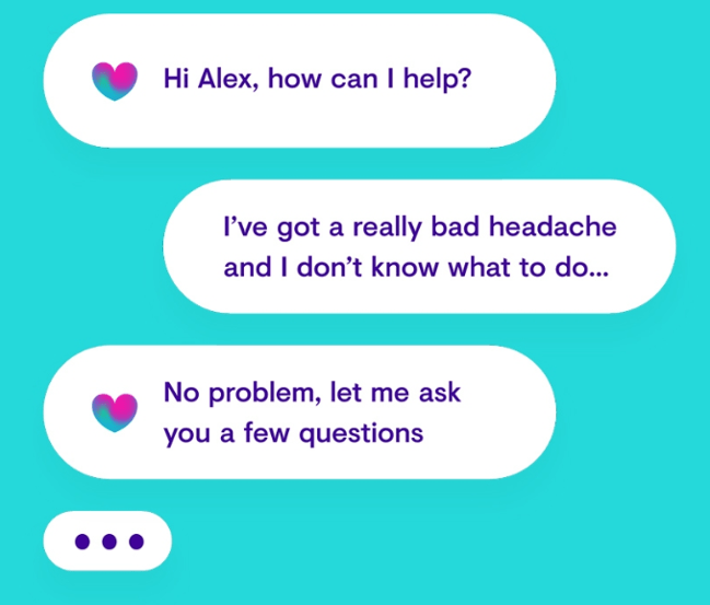 ot, heathcare chatbot, health chatbot, headache