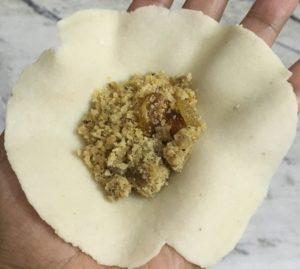 roti and stuffing