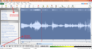wavepad sound editor record play