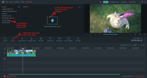 wondershare video editor music