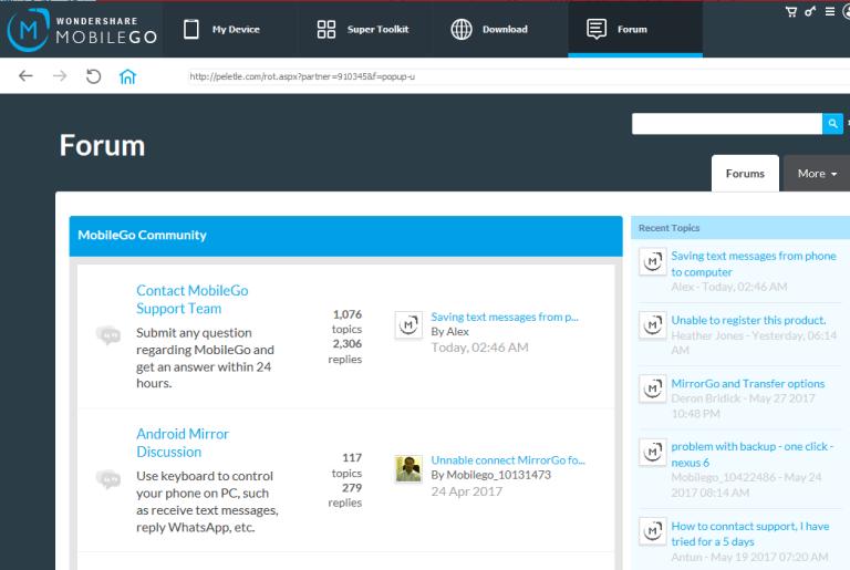mobilego forum