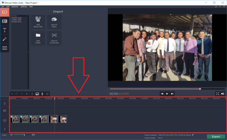 Movavi Video Editor Demo