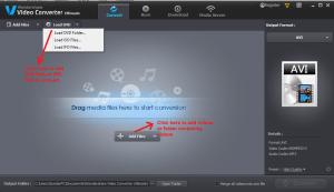 wondershare video converter convert add