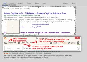 ice cream Screen recorder screenshot