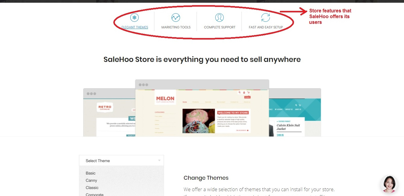 Salehoo store