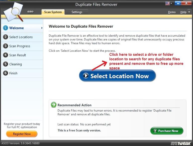 Advanced System Optimizer Duplicate Files
