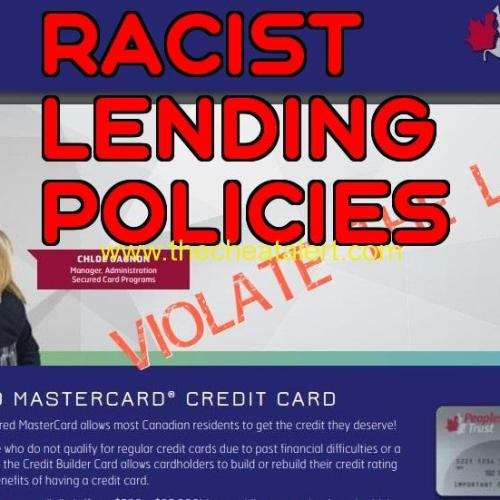 Peoples Trust Company : Racist Lending Policies . Peoples Group Peoples Trust Company. https://www.peoplestrust.com/en/ Suite 1400 888 Dunsmuir Street Vancouver, BC V6C 3K4 Phone: 604-683-2881 Fax: 604-331-3469 808 4 Ave SW #955, Calgary, AB T2P 3E8 Phone: (403) 237-8975 95 Wellington St W Suite 1310, Toronto, ON M5J 2N7 Phone: (416) 368-3266