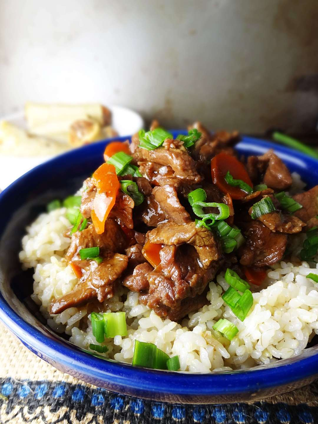 Slow Cooker Mongolian Beef recipe from The Cheerful Kitchen. This easy dinner will be a hit in your house!