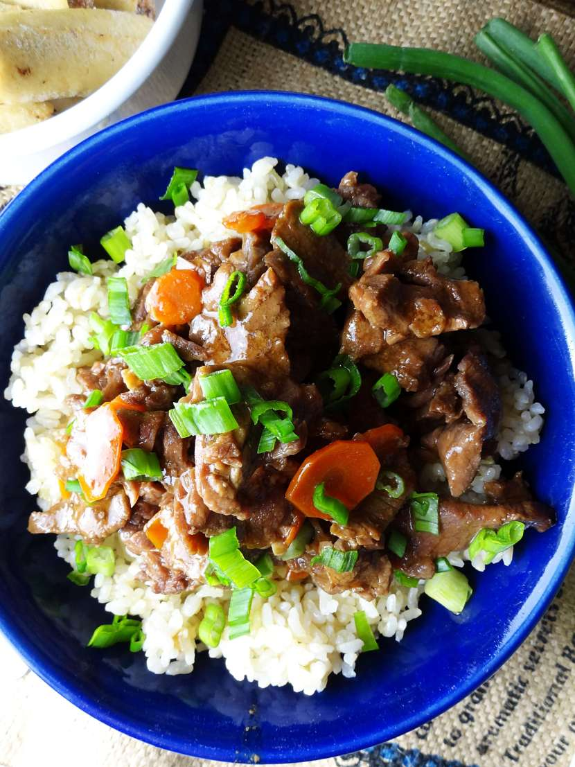 Mongolian beef in the slow cooker the cheerful kitchen slow cooker mongolian beef recipe from the cheerful kitchen this easy dinner will be a forumfinder Image collections