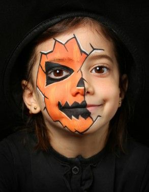 Easy Halloween Makeup for Kids 15