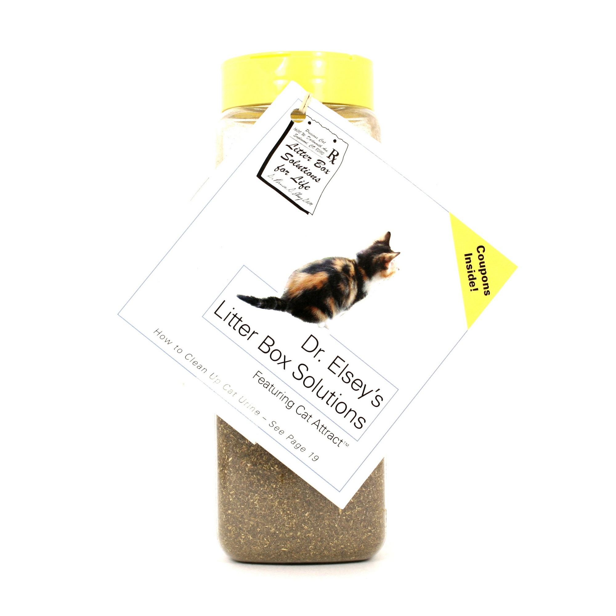 Dr, Regular food won't do the trick, Dawn and dusk are often when cats start hunting, and then withdraw the appropriate amount of solution using the provided syringe, Elsey's Cat Attract Scoopable Cat Litter Multi ...