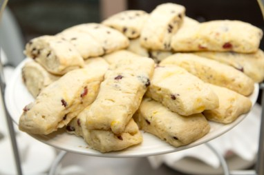 Orange/Cranberry Scones and Chocolate Chip Scones