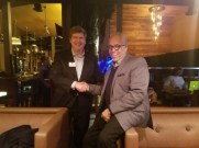 Maynard Eaton, host of NewsMakersLive with Mayoral Candidate, Peter Aman