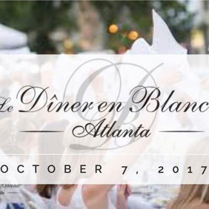 Le diner en blancDiner en Blanc Atlanta 2017