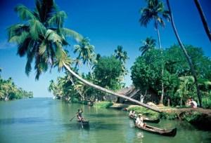 Boats in Kerala, India
