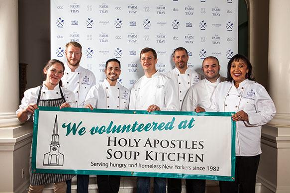 Pictured: Chefs at last year's Farm to Table Event