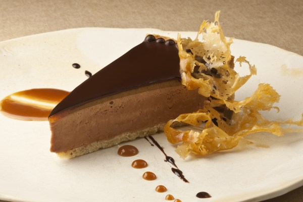 Milk Chocolate Mousse Pie by Pastry Chef Cindy Bearman. Photo by Battman. Pies, cookbook, ebook,