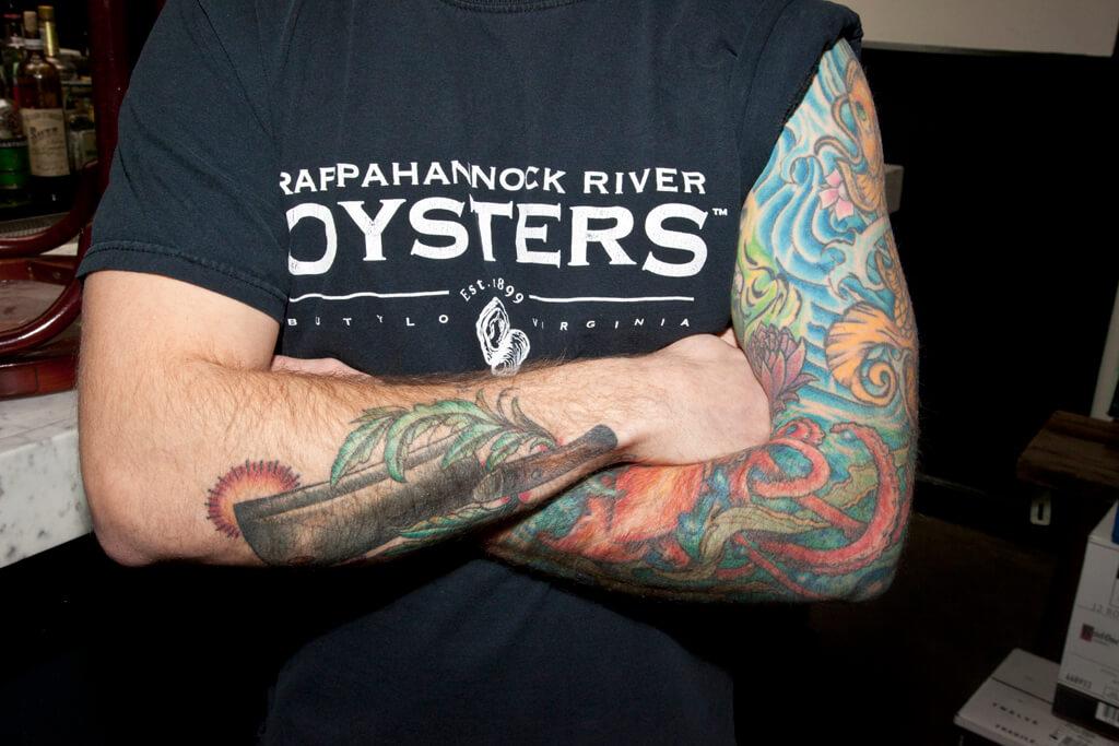 Gary King Tattoo