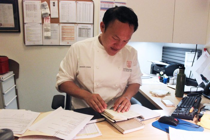Director of Pastry Arts Jansen Chan