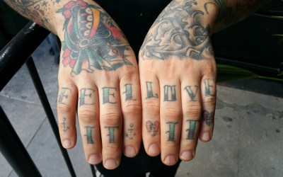 It's Tattoo Tuesday with Andrew Riccatelli