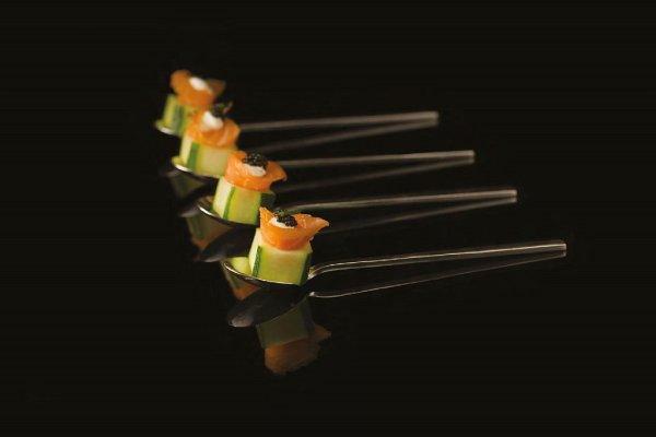 Cured Salmon, Cucumber Sake Box by Toni Robertson. Photo bt