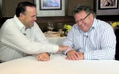 Memories of the River Cafe with David Burke and Charlie Palmer