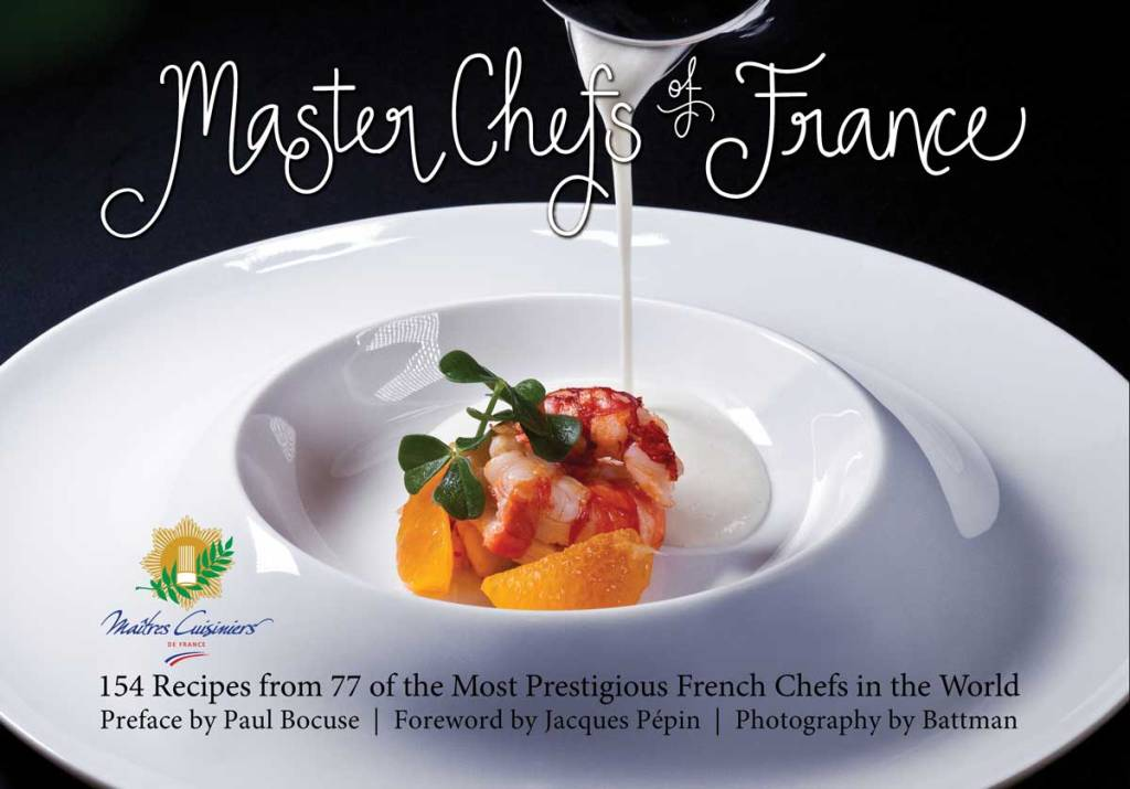 Cover for hardcover edition of Master Chefs of France, Photography by Battman.
