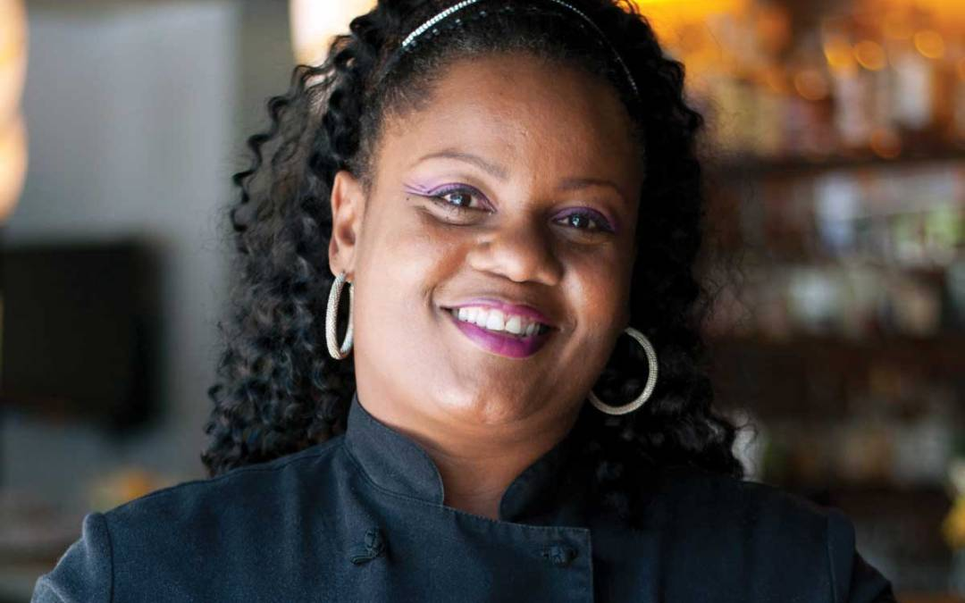 Chef Jennifer Hill Booker, Toques in Black, 2019