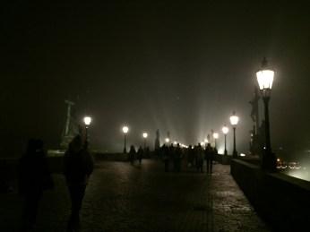 Prague's city lighting is great.