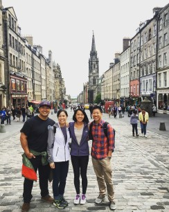 On the Royal Mile