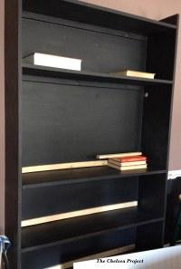 DIY Floating Bookcase