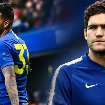 Marcos Alonso and Emerson Palmieri, Chelsea FC, Left Back.