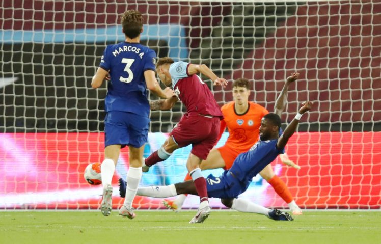 Lampard will be hoping to avoid a repeat from last season's horror show against West Ham. Credit: Julian Finney/Pool via REUTERS
