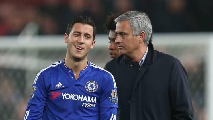 Eden and Mourinho