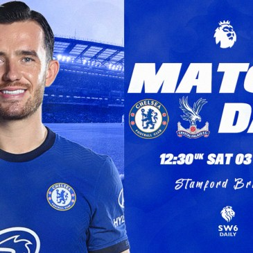 Chelsea Crystal Palace Matchday Edit