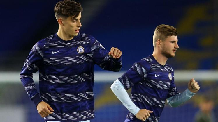 Kai Havertz and Timo Werner are two of Chelsea's sparkling attacking signings