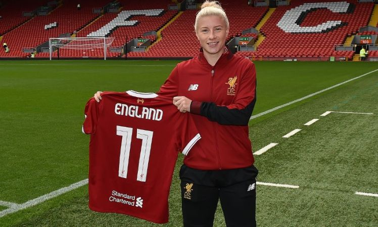 Bethany England impressed on loan for Liverpool.