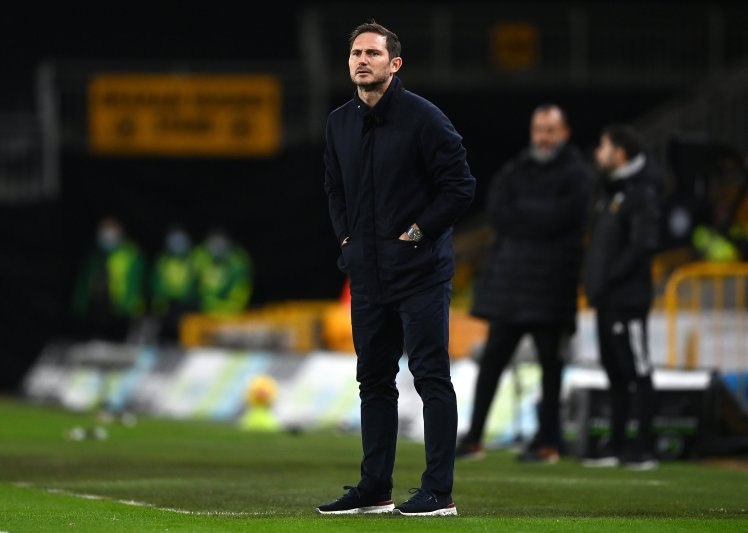 Lampard defeated once again as Chelsea manager. (Photo by RUI VIEIRA/POOL/AFP via Getty Images)