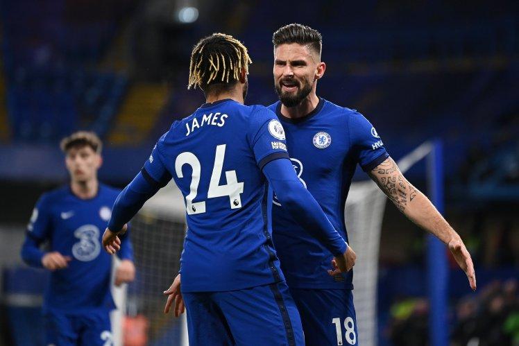 Olivier Giroud kickstarts the Chelsea comeback as it finishes Chelsea 3-1