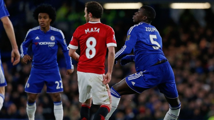 A possible career ender for Zouma.