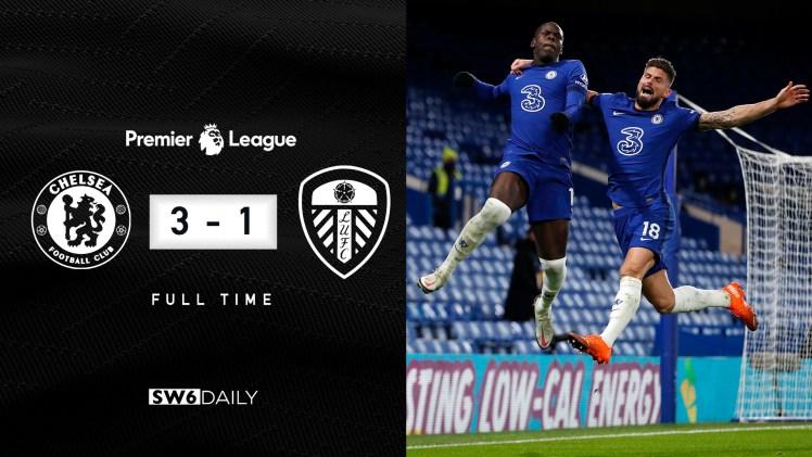 Chelsea 3-1 Leeds Match Report