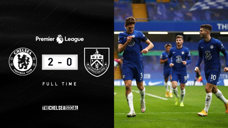 Chelsea 2-0 Burnley Final Score Edit.